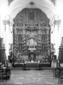 Altar mayor de San Francisco (AML. Pedro Menchón, h. 1925)