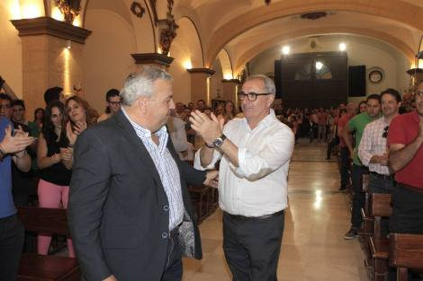 LORCA- 5/6/2015. Jose MaríaMiñarro Gonzazlez, nuevo presidente Paso Azul